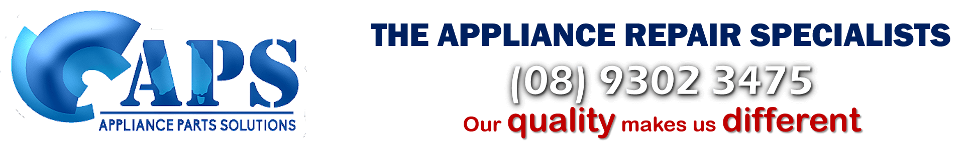 appliance repairs perth