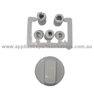 Knob Universal White Part No WU-KN